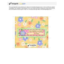 You Brighten - Candy Bar Wrapper - PR