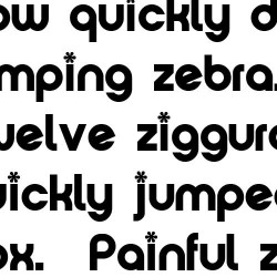 TXT Groovy Smooth - Font