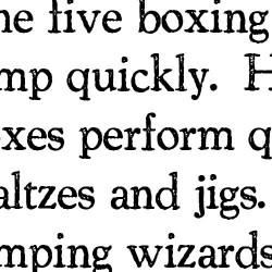 TXT Romanesque - Font