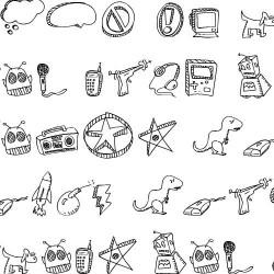 TXT Schoodle Doodle 2 - Font