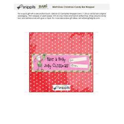 Misfit Elves - Candy Bar Wrapper - PR