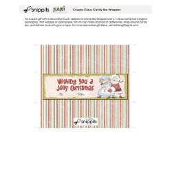 Couple Claus - Candy Bar Wrapper - PR