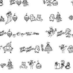 LDJ Christmas Dingbats - Font