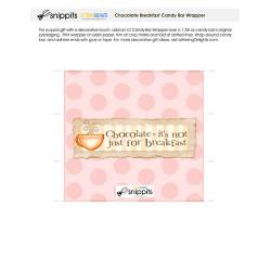 Chocolate Breakfast - Candy Bar Wrapper - PR