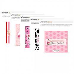 Jillustration's Moo'd for Love Candy Bar Wrapper Bundle