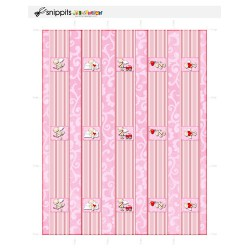 Cute Cupid - Mini Candy Bar Wrappers - PR