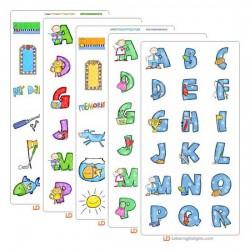 Jillustration's Scribble Family Bundle
