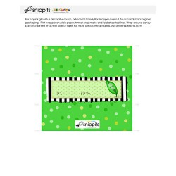 Two Peas - Candy Bar Wrapper - PR