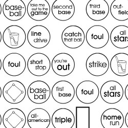 DB Circles - Baseball - DB
