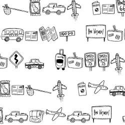 DB Travel Doodles - DB