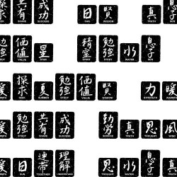 DB KanjiWords Black S-Z, 1-10 - DB