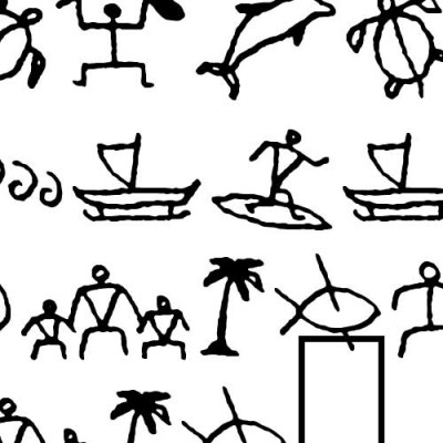 DB Hawaiian Glyphs - DB