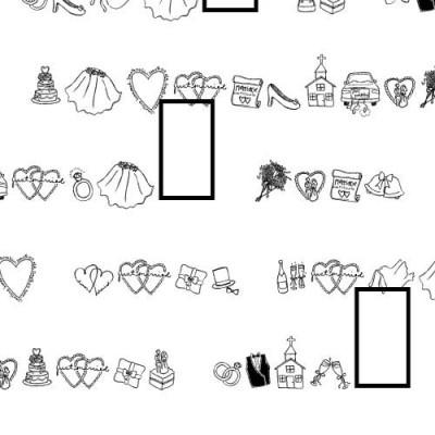 DB Wedding Doodles - DB