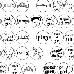 DB Circles - Girl - DB