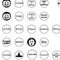 DB Circles - Halloween - DB