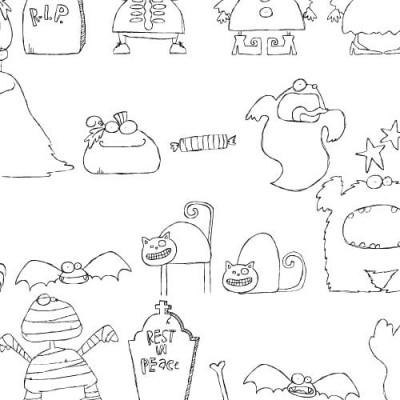 DB Spooky Doodles - DB