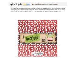 Spooktacular Treat - Candy Bar Wrapper - PR