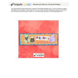 Monsterously Delicious - Candy Bar Wrapper - PR