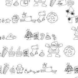 DB Christmas Fun Doodles - DB