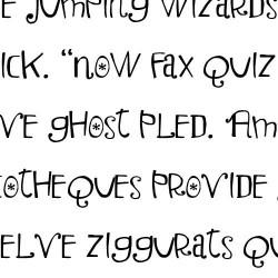 LDJ Christmas Troll - Font