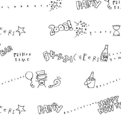 DB New Year Doodles - DB