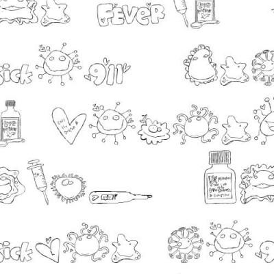 DB Love Sick Doodles - DB
