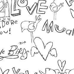 DB Lovey Dovey Doodles - DB