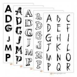 LD Grunge Font Bundle