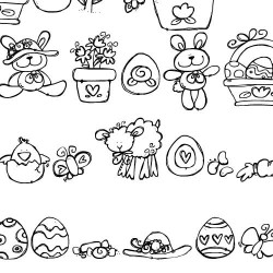 DB Easter Fun Doodles - DB