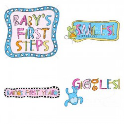 Baby Girl Firsts - GS