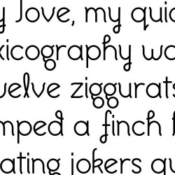 LD Imagine That - Font
