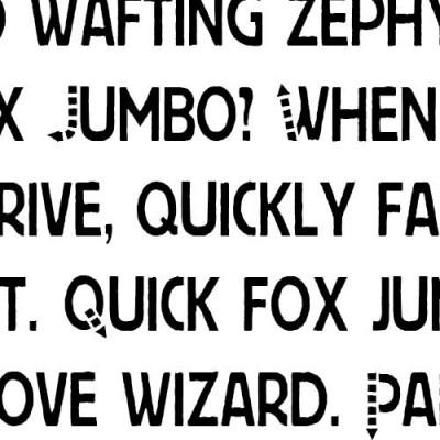 LD This Way - Font