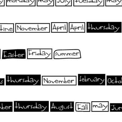 DB Boxy Calendar - DB