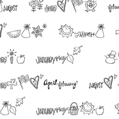 DB Calendar Doodles - DB
