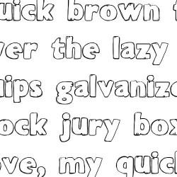 LD Loafer - Font