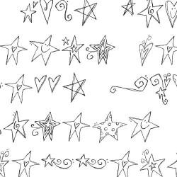 DB Swirly Stars - DB
