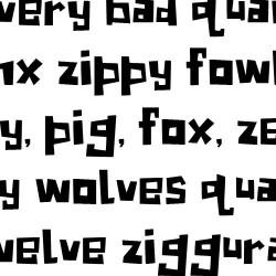 LD Woodsy - Font