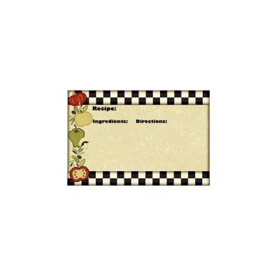 Vita Bella Recipe Cards - PR
