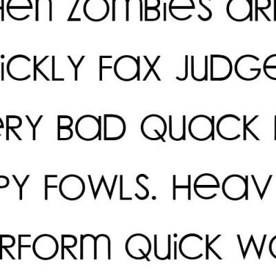 LD Woodland - Font