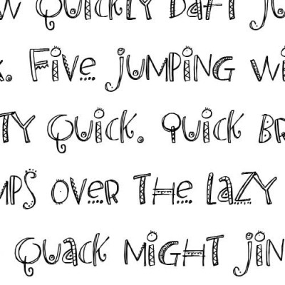 LDJ Revelry - Font