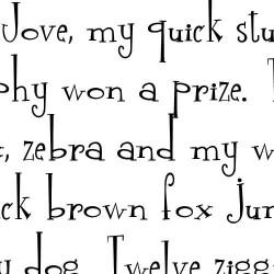 LD Free Spirit - Font