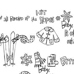 DB Snowy Doodles - DB