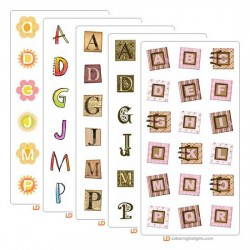 Alphabet Sampler Bundle