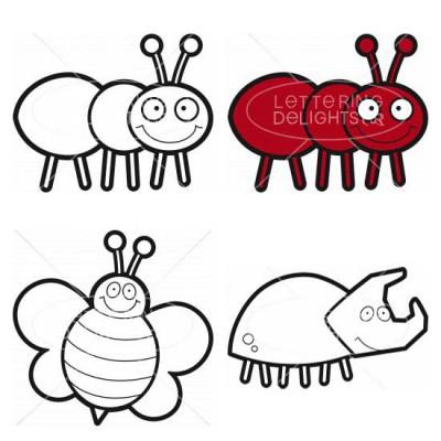Cute Bugs - CL