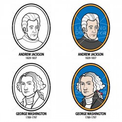 US Presidents 1789-1849 - CL