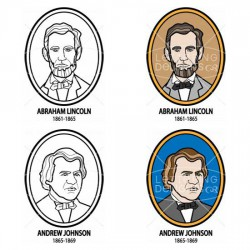 US Presidents 1849-1889 - CL