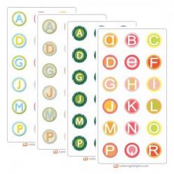 Circle Alphabets Sampler Bundle