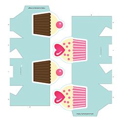 Cupcake Favor Boxes - PR