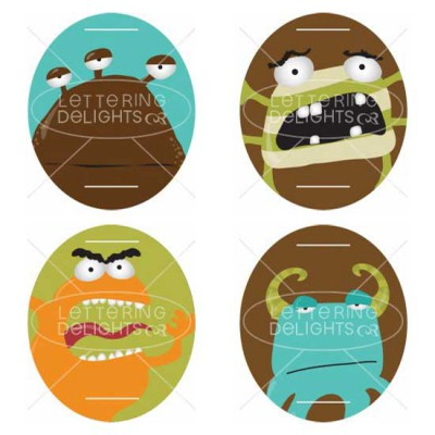 Monster-licious - Toppers - PR