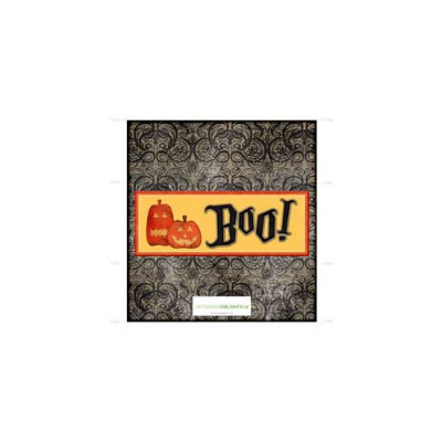 Jack-O-Boo - Candy Bar Wrapper - PR